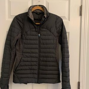 Lululemon super-lightweight puffer zip up jacket